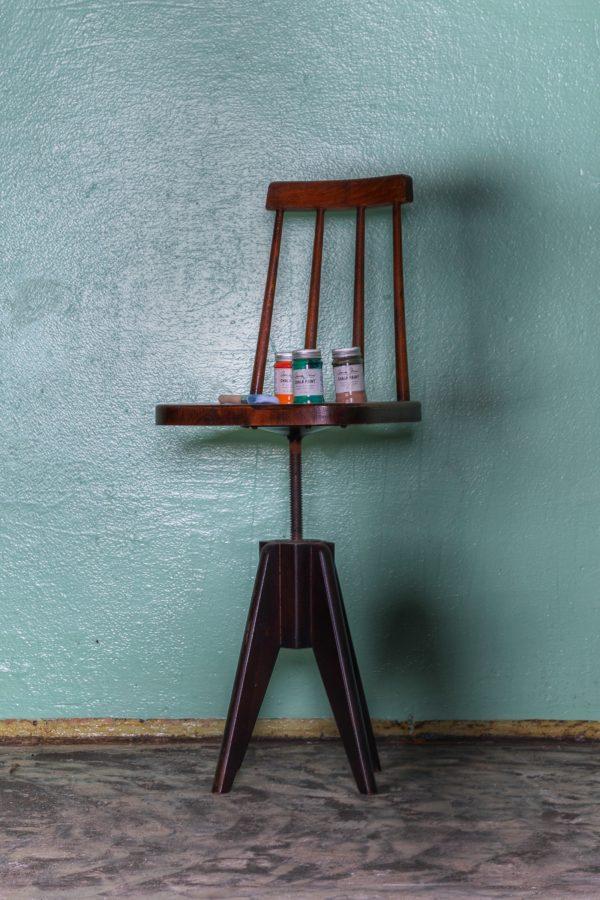 otočná židle k patinování – annie sloan – patinahouse.eu