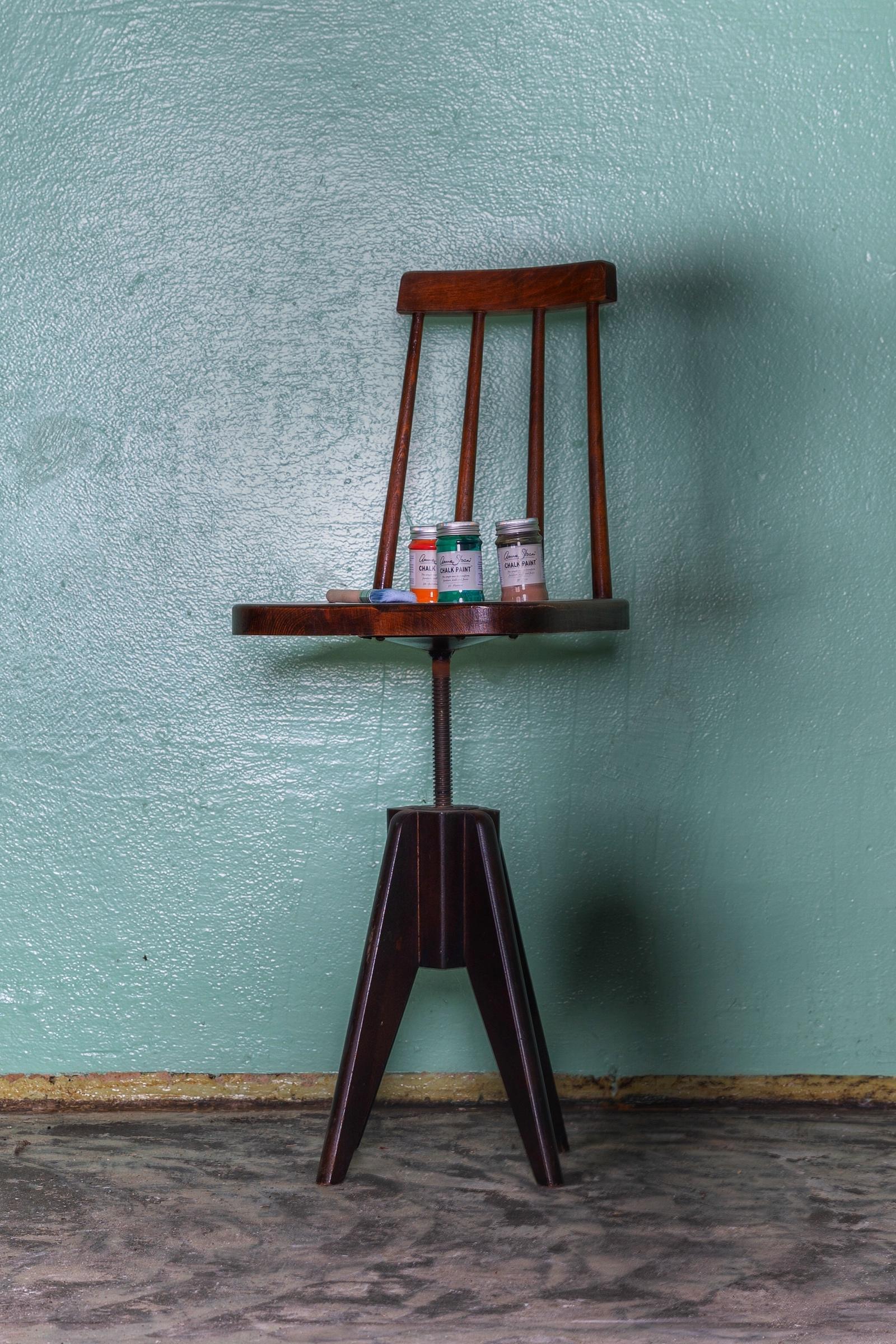 otočná židle k patinování - annie sloan - patinahouse.eu