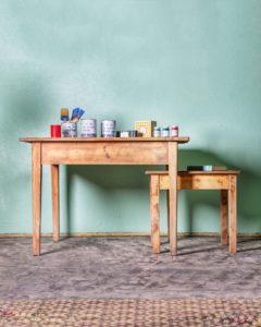 stůl k patinování - annie sloan - patinahouse.eu